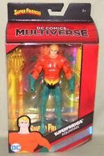 "AQUAMAN SUPERFRIENDS DC Multiverse Mattel 6"" Action Figure AQUA MAN"
