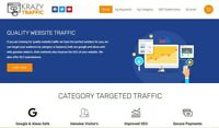 KrazyTraffic.com - Traffic Reseller - Full Setup, First Month Hosting Included!
