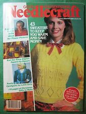 Vintage Good Housekeeping Needlecraft Magazine - Fall Winter 1980-81 150+pp