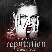 4 x Taylor Swift Reputation Concert Tickets, Brisbane, Tue 6th November 2018