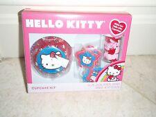 Wilton Hello Kitty Cupcake Kit Cups Picks Sprinkles 24 EACH SHIP WORLDWIDE