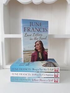 Collection of 4 x Paperback Romance Saga Books - June Francis Love Letters - NEW