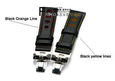 20mm Leather Watch Band with Buckle FOR 20mm T91 PRS516 T021 Racing Series