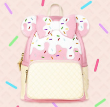 Loungefly Sweet Treat Minnie Mouse Strawberry Sundae Mini Backpack Le Of 600