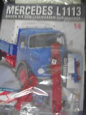 Mercedes l 1113/1966 * Nº 14 * coleccionista kit 1:12