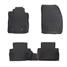 OEM NEW 2018 Ford EcoSport Custom Fit Floor Mat Kit All Weather Tray SET Rubber