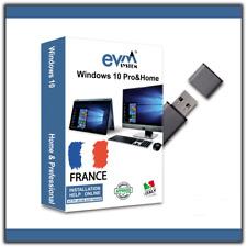 Windows 10 Professionnel - Clé USB ISO 32 et 64 bits Pro / Home incluse Licence