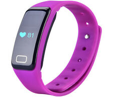 2017 X6S Smart Watch Wristband Bluetooth Fitness Tracker Heart Rate Monitor UK