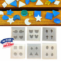 9Types Earing Pendant DIY Mold Resin Tool Craft Mould Silicone Making Jewelry