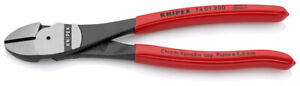 Knipex 74 01 200 High Leverage Diagonal Side Cutters Pliers 200mm