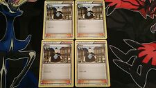 Pokemon Trainer Supporter Tierno x4 107/119 XY Phantom Forces Playset (NM/Mint)