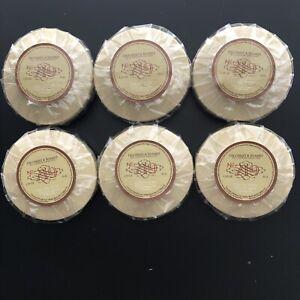Lot of 6 Gilchrist & Soames Facial Soap Savon Soin Travel Size 1.25 oz each