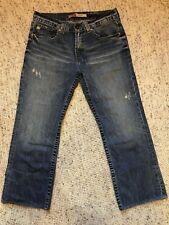 Big Star Pioneer Regular Bootcut 36 X 29 Distressed 100% Cotton