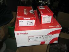 BMW X1 E84 Rear Brembo Disks and pads, Mintex handbrake shoes