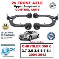 2x Eje Delantero Superior Brazos para Chrysler 300C 2.7 3.0 3.5 5.7 6.1 Saloon