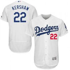 Clayton Kershaw #22 White Flex Majestic Jersey Size XXL New Withe Tags