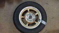 1987 Yamaha Virago XV700 XV 700 Y426. rear wheel rim 15in