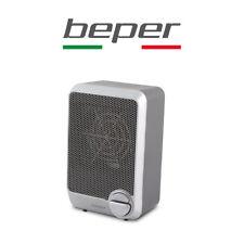 """TERMOVENTILATORE """"CLEA"""" BEPER 600 W STUFA BAGNO STUFETTA SILVER RI.085"""