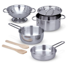 Melissa & Doug MD4265 Stainless Steel Pots & Pans
