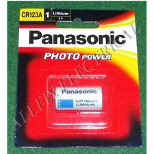 Panasonic 3Volt Lithium Photographic Camera Battery - Part # CR123A