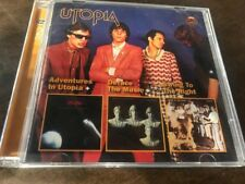 """Utopia """"Adventures In / Deface the Music / Swing to the Right"""" MINT cd Edsel"""