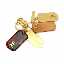 LOUIS VUITTON Monogramouflage Bag Charm Red Gold M65635 90099802