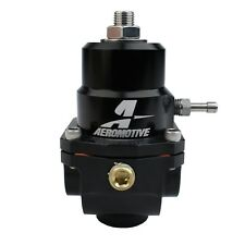 AEROMOTIVE P/N:13303 X1 BILLET FUEL PRESSURE REGULATOR 0.188 ORiFICE -8AN/-8AN