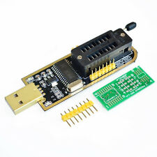 25 SPI Series Chip 24 EEPROM CH341A BIOS Writer Routing LCD Flash USB Programmer