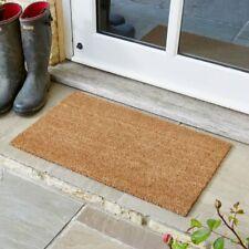 Heavy Duty Large Plain Natural Coir Door Mat Entrance Floor Indoor Outdoor Front