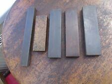 5 x Vintage Natural Oilstones