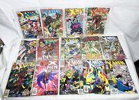 Lot of 14 Vintage Marvel X-Men Comics 90's The Uncanny, 2099, Classic