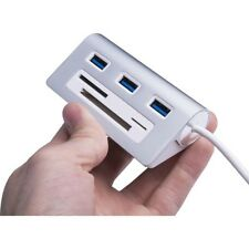 Sabrent HB-MACR 3port Usb 3.0 Hub With Cf/sd/tfperp Card Reader (hbmacr)