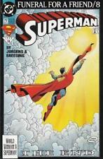 DC COMIC SUPERMAN FUNERAL FOR A FRIEND/8  # 77 BIN 23