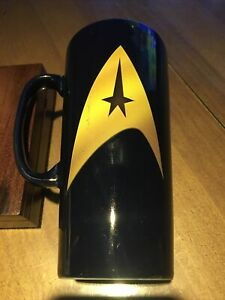 Preloved star trek beam me up scotty coffee mug cup heat activated graphics