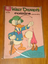 WALT DISNEY'S COMICS AND STORIES #239 FN- (5.5) DELL CARL BARKS AUGUST 1960