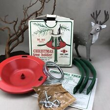"""Christmas Tree Stand Vintage Handy Things Tree Holder trunks up to 3 1/8"""""""