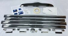 TX4 Taxi Chrome Kit Door Handle Covers, Plinth Cover & Stainless Fuel Cap