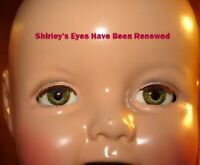 Doll Doctor Renew Your Composition Shirley Temple Doll Crystallized Eyes 13-27""