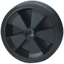 Galet de roue jockey - Plastique - Diamètre 160mm remorque - caravane