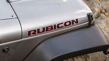 New OEM Mopar 2013 JK Jeep Wrangler Rubicon 10th Anniversary Hood Decal Set of 2