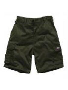 Dickies-Arbeitshose-Cargo-Bermuda-Shorts-kurze Hose-oliv grün-NEU