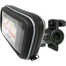 "GARMIN NUVI 4.3"" 5"" GPS Detachable Waterproof Motorcycle Bike Handle Bar Mount"