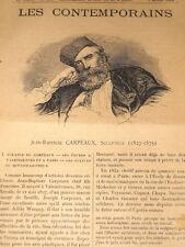 JEAN-BAPTISTE CARPEAUX 1827-1875 Valenciennes SCULPTEUR
