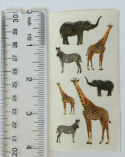 StickyPix ZOO ANIMALS - Strip of Stickers by Paper House