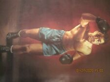 Rocky Marciano Print Poster 1986