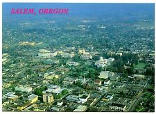 Salem Oregon Postcard Capitol Beaver State Aerial View Unposted