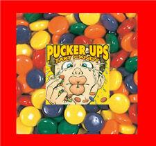 25 pounds Pucker Ups tangy candy Vending 13,500 pcs.