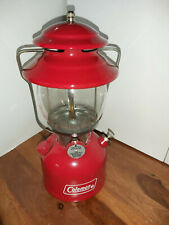 nice Vintage Coleman Lantern 1963 200a195 Red