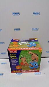 KIDZLANE DOLPHIN BUBBLE MACHINE NEW, *DAMAGED BOX*