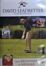 David Leadbetter: From Beginner to Winner (DVD, 2005) C2014